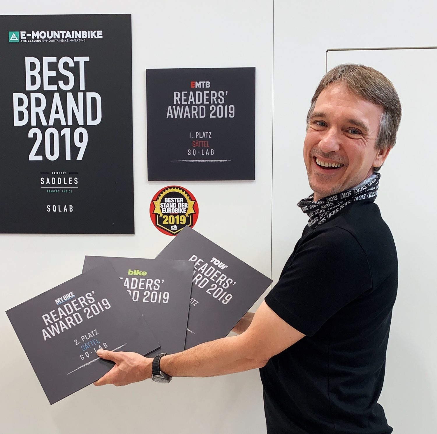 SQlab Best Saddle Brand of the Year 2019